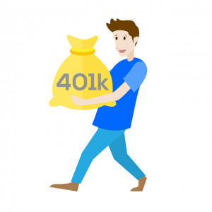 Contributions to a traditional 401(k) are made pre-tax