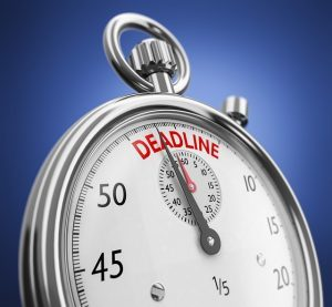 Our blog explains important filing deadlines.